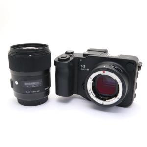 《美品》SIGMA sd Quattro H & A 35mm F1.4 DG HSM レンズキット|ymapcamera