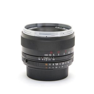 《美品》Carl Zeiss Planar T* 50mm F1.4 ZF.2(ニコンF用)|ymapcamera