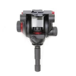 《美品》Manfrotto プロフルードビデオ雲台75mm 504HD|ymapcamera