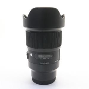 《良品》SIGMA A 20mm F1.4 DG HSM(ソニーE用/フルサイズ対応)