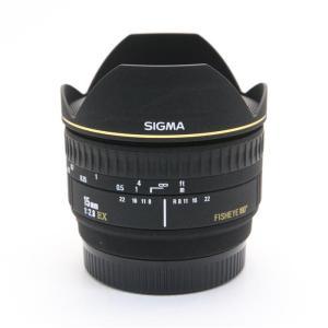 《並品》SIGMA 15mm F2.8EX DG DIAGONAL FISH EYE(ソニーα用)