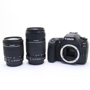 《良品》Canon EOS 80D ダブルズームキット ymapcamera