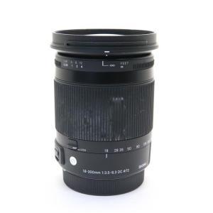 《並品》SIGMA C 18-300mm F3.5-6.3 DC MACRO OS HSM(キヤノン...
