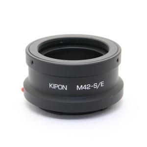 《並品》KIPON マウントアダプター M42レンズ/ソニーEボディ用|ymapcamera