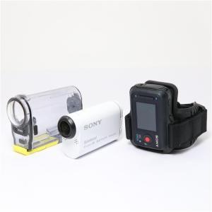 《並品》SONY デジタルHD ビデオカメラレコーダー アクションカム ライブビューリモコンキット HDR-AS100|ymapcamera