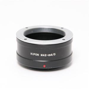 《並品》KIPON マウントアダプター M42レンズ/マイクロフォーサーズボディ用|ymapcamera