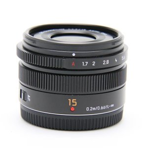 《良品》Panasonic LEICA DG SUMMILUX 15mm F1.7 ASPH.|ymapcamera