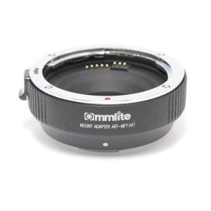 《良品》Commlite マウントアダプター キヤノンEF/MFT用 AF 電子接点付き CM-AEF-MFT|ymapcamera