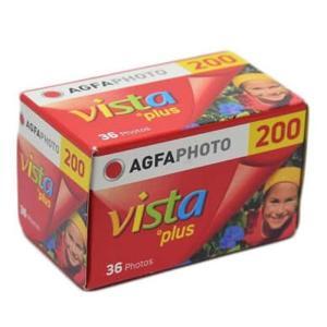 《新品アクセサリー》 AGFA (アグフア) VISTA 200 135-36 36枚撮り 〔35mm/カラーネガフィルム〕|ymapcamera