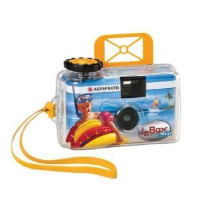 《新品》 AGFA (エルピーエル) LeBox OCEAN カラーネガ防水27枚撮り 〔35mm/カラーネガフィルム〕|ymapcamera