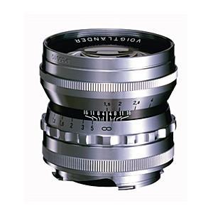 《新品》 Voigtlander(フォクトレンダー) NOKTON 50mm F1.5 Vintage Line Aspherical VM(ライカM用) シルバー|ymapcamera
