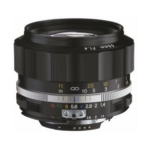 《新品》 Voigtlander (フォクトレンダー) NOKTON 58mm F1.4 SL II S(ニコンF用) ブラックリム〔納期未定・予約商品〕|ymapcamera