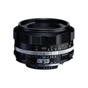 《新品》 Voigtlander (フォクトレンダー) ULTRON 40mm F2 Aspherical  SL II S(ニコンF用) ブラックリム|ymapcamera