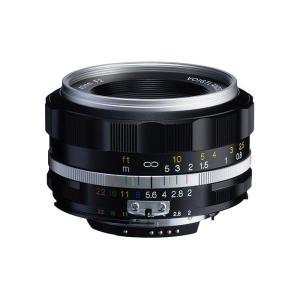 《新品》 Voigtlander (フォクトレンダー) ULTRON 40mm F2 Aspherical  SL II S(ニコンF用) シルバーリム|ymapcamera