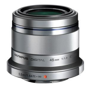 《新品》 OLYMPUS(オリンパス) M.ZUIKO DIGITAL 45mm F1.8 シルバー(マイクロフォーサーズ)〔レンズフード別売〕|ymapcamera