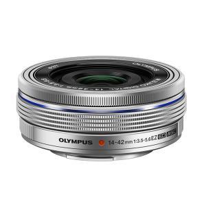 《新品》 OLYMPUS(オリンパス) M.ZUIKO DIGITAL ED 14-42mm F3.5-5.6 EZ シルバー|ymapcamera
