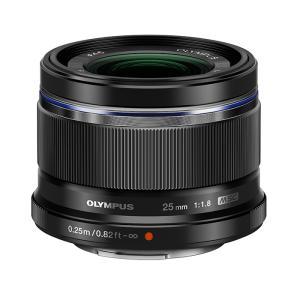 《新品》 OLYMPUS(オリンパス) M.ZUIKO DIGITAL 25mm F1.8 ブラック(マイクロフォーサーズ)|ymapcamera