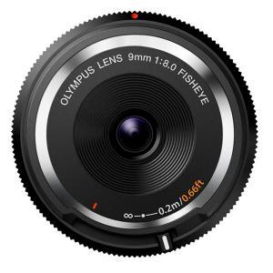 《新品》 OLYMPUS(オリンパス) フィッシュアイボディキャップレンズ(9mm F8.0 FISHEYE) BCL-0980 ブラック|ymapcamera