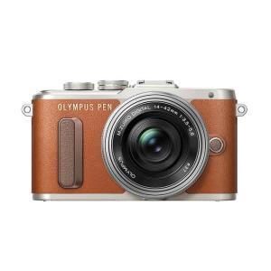 《新品》 OLYMPUS(オリンパス)  PEN E-PL8 14-42mm EZレンズキット ブラウン|ymapcamera