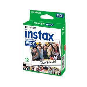 《新品アクセサリー》 FUJIFILM (フジフィルム) インスタントカラーフィルム instax WIDE 1パック(10枚入り)|ymapcamera