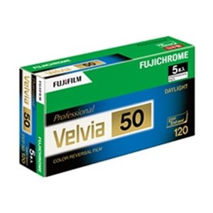 《新品アクセサリー》 FUJIFILM (フジフィルム) VELVIA50 EP NP 120/5本パック|ymapcamera