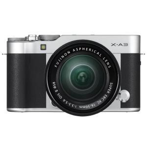 《新品》 FUJIFILM(フジフイルム) X-A3 レンズキット シルバー【在庫限り(生産完了品)】|ymapcamera