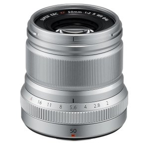 《新品》 FUJIFILM(フジフイルム) フジノン XF50mm F2 R WR シルバー|ymapcamera