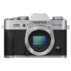 《新品》 FUJIFILM(フジフイルム) X-T20 ボディ シルバー【¥5,000-キャッシュバック対象】|ymapcamera