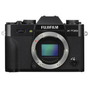 《新品》 FUJIFILM(フジフイルム) X-T20 ボディ ブラック【¥5,000-キャッシュバック対象】|ymapcamera