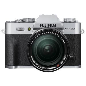 《新品》 FUJIFILM(フジフイルム) X-T20 レンズキット シルバー【¥5,000-キャッシュバック対象】|ymapcamera