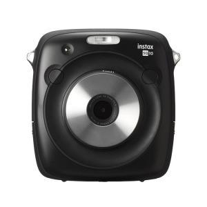 《新品》FUJIFILM ハイブリッドインスタントカメラ instax SQUARE SQ10 チェキスクエア ブラック|ymapcamera