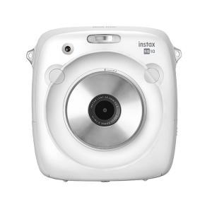 《新品》FUJIFILM (フジフイルム) ハイブリッドインスタントカメラ instax SQUARE SQ10 ホワイト|ymapcamera