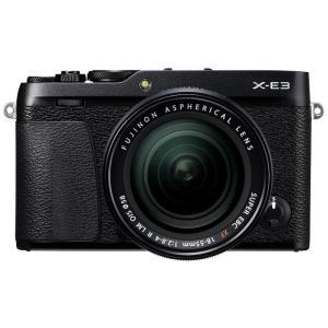 《新品》 FUJIFILM(フジフイルム) X-E3 レンズキット ブラック 【¥10,000-キャッシュバック対象】|ymapcamera