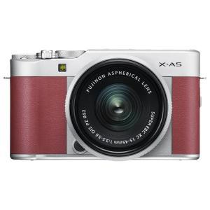 《新品》 FUJIFILM(フジフイルム) X-A5 レンズキット ピンク【¥5,000-キャッシュバック対象】|ymapcamera