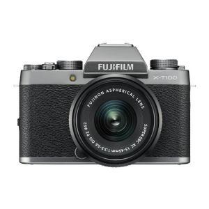 《新品》 FUJIFILM (フジフイルム) X-T100 レンズキット ダークシルバー[ ミラーレス一眼カメラ | デジタル一眼カメラ | デジタルカメラ ]|ymapcamera