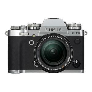 《新品》FUJIFILM (フジフイルム) X-T3 レンズキット シルバー|ymapcamera