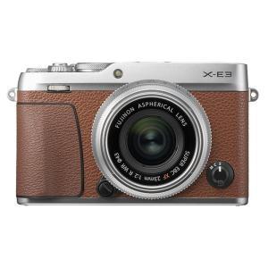 《新品》 FUJIFILM (フジフイルム) X-E3 XF23mmF2 R WRキット ブラウン 【国内限定1,000台】【¥5,000-キャッシュバック対象】|ymapcamera