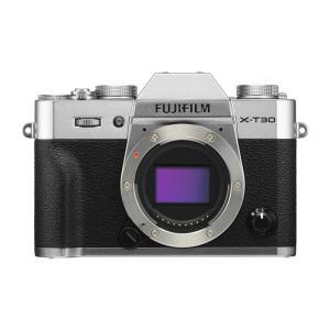 《新品》 FUJIFILM (フジフイルム) X-T30 ボディ シルバー[ ミラーレス一眼カメラ | デジタル一眼カメラ | デジタルカメラ ]|ymapcamera