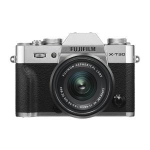 《新品》 FUJIFILM (フジフイルム) X-T30 XC15-45mmレンズキット シルバー[ ミラーレス一眼カメラ | デジタル一眼カメラ | デジタルカメラ ]|ymapcamera