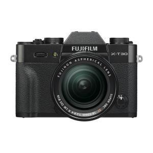 《新品》 FUJIFILM (フジフイルム) X-T30 XF18-55mmレンズキット ブラック[ ミラーレス一眼カメラ | デジタル一眼カメラ | デジタルカメラ ]|ymapcamera