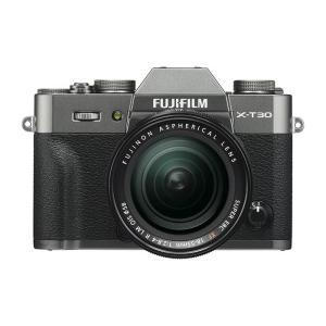《新品》 FUJIFILM (フジフイルム) X-T30 XF18-55mmレンズキット チャコールシルバー 発売予定日:2019年6月21日|ymapcamera