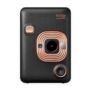《新品》FUJIFILM (フジフイルム) ハイブリッドインスタントカメラ チェキ instax mini LiPlay エレガントブラック ymapcamera