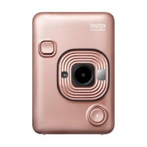 《新品》FUJIFILM (フジフイルム) ハイブリッドインスタントカメラ チェキ instax mini LiPlay ブラッシュゴールド ymapcamera