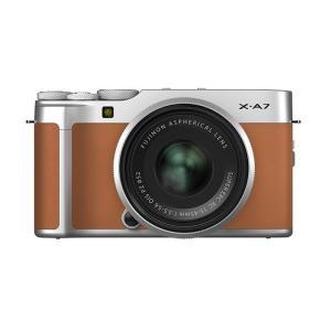 《新品》 FUJIFILM (フジフイルム) X-A7 レンズキット キャメル