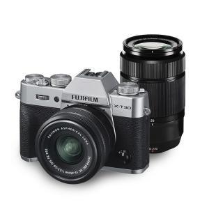 《新品》 FUJIFILM (フジフイルム)  X-T30 ダブルズームレンズキット シルバー 発売予定日:2019年9月20日|ymapcamera