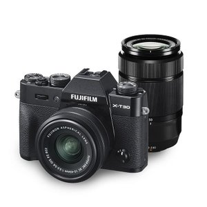 《新品》 FUJIFILM (フジフイルム)  X-T30 ダブルズームレンズキット ブラック|ymapcamera