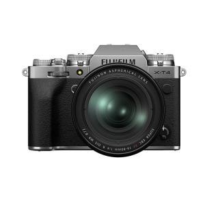 《新品》FUJIFILM (フジフイルム) X-T4 XF16-80mmレンズキット シルバー 【X...