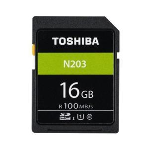 《新品アクセサリー》 TOSHIBA (トウシバ) SDHCカード UHS-1 16GB Class10 THN-N203N0160A4|ymapcamera