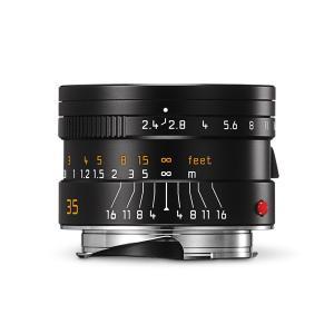 《新品》 Leica(ライカ) ズマリット M35mm F2.4 ASPH. ブラック|ymapcamera