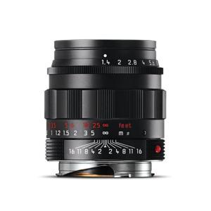 《新品》Leica(ライカ) ズミルックス M50mm F1.4 ASPH. ブラッククローム 【限定2本】【世界限定500本】|ymapcamera